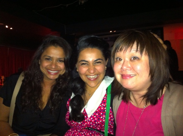 Anusree, Neha and Marjorie